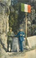 GRIMALDI VENTIMIGLIA FRONTIERE ITALIENNE DOUANIERS FRANCAIS ET ITALIENS - Douane