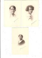 Lot 3 Photos Garçon  Enfant Fille Fillette Photo Haertsch Ardisson 1924 64 Rue D\´Antibes Cannes 06 Alpes Maritimes - Personnes Anonymes
