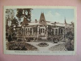 CP MORSANG SUR ORGE PARC BEAUSEJOUR  HAMEAU DES DIABLOTINS - ECRITE EN 1950 - Morsang Sur Orge