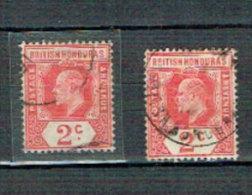 Belize / British Honduras  - FM King Edward 1905 (used/o) - British Honduras (...-1970)