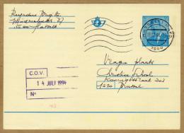 Carte Entier Postal Hasselt 1 à Brussel - Postwaardestukken