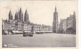 Tournai - La Grand´place (automobile) - Tournai