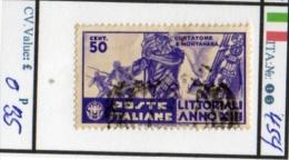 ITALY:KINGDOM#  COMMEMORATIVES (ITA 260-3 (15) - Usati