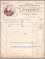 LOIRE - SAINT ETIENNE - IMPRIMERIE - LITHOGRAPHIE - TYPOGRAPHIE - PAPETERIE - M. SEIGNEUR & CIE - 1957 - Imprimerie & Papeterie