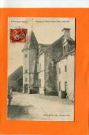 THOISY LE DESERT     1909   LA COUR DU CHATEAU   CIRC  NON    EDIT - Autres Communes