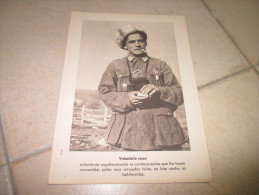 Propaganda Card Russia Russian Volunteer Guerre WWII - Documents