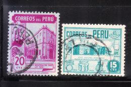 Peru 1949-51 Scenery 2v Used - Peru