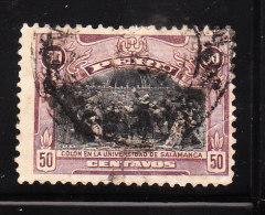 Peru 1918 Columbus 50c Used - Peru