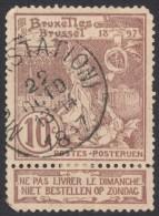 Belgium,  10 C. 1896, Sc # 81, Mi # 66, Used. - 1894-1896 Exhibitions