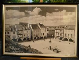 SAUVETERRE- DE- ROUERGUE (12)  Photo De Claude BERTRAND Encadrée, Neuve - Autres Collections