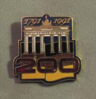 Pin's Berlin Bicentenaire De La Porte De Brandebourg  - 1791-1991 - Villes