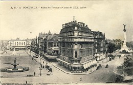 BORDEAUX, Allées De  Tourny Et Cours Du XXX Juillet - 2 Scans - Bordeaux