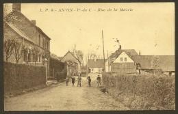 ANVIN Rare Rue De La Mairie (Leclercq) Pas De Calais (62) - Other Municipalities