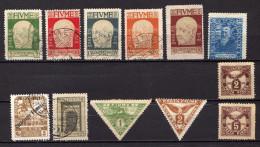 Fiume - Lot De 12 Timbres Classiques - 8. WW I Occupation