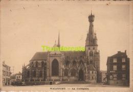 CPA  WALCOURT LA COLLEGIALE  L'EDITION BELGE - Walcourt