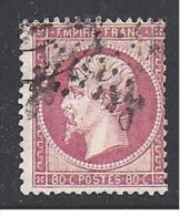 80 C Napoléon  N° 24  Oblitéré  -  Cote :  50 € - 1862 Napoleon III