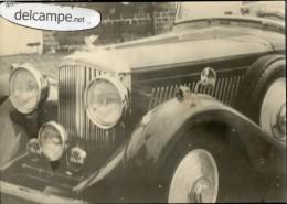 AUTOMOBILE  ANCIENNE  -  PHOTO   ROLLS  ROYCE  Décapotable - Automobile