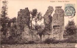 VALOGNES - Ruines Du Château - Valognes