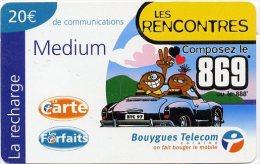 @+ Recharges Bouygues Telecom Caraïbes - DOM - Les Rencontres (20€) - Antilles (Françaises)