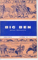BIG BEN N° 12, Novembre 1964, DEBUTANTS, Revue Mensuelle POUR APPRENDRE L´ANGLAIS, Publication Claude PICHON - 6-12 Ans