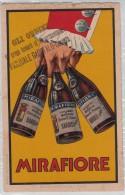 """PUBBLICITA´ ADVERTISING REKLAM WERBUNG-""""MIRAFIORE-TENIMENTI DI BAROLO E FONTANA FREDDA BAROLO 1921 - Werbepostkarten"""