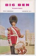 BIG BEN N° 34, Janvier 1967,  SUPERIEUR, Revue Mensuelle POUR APPRENDRE L´ANGLAIS, Publication Claude PICHON - Livres, BD, Revues