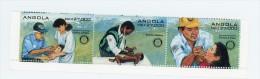 Angola 1995-Rotary-Médecin,polio-YT 959/61***MNH - Rotary, Lions Club