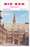 BIG BEN N° 48, Mai 1968,  SUPERIEUR, Revue Mensuelle POUR APPRENDRE L´ANGLAIS, Publication Claude PICHON - Livres, BD, Revues