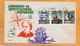 Spain 1963 FDC - FDC