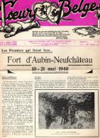 Coeurs Belges. Fort D' Aubin-Neufchâteau 1940. Résistance. - Vecchi Documenti