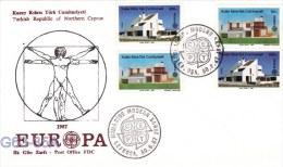 Turk Cyprus: 1987 Europa CEPT  (G63-35A) - 1987