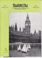 BUTTERFLY N° 255, Septembre 1967, Revue Mensuelle POUR APPRENDRE L´ANGLAIS, Publication Butterfly, Le Havre - Livres, BD, Revues