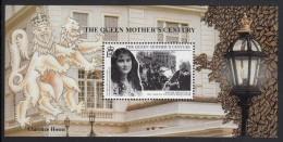 South Georgia MNH Scott #235 Souvenir Sheet 1pd Funeral Procession For Queen Victoria - Queen Mother's Century - Géorgie Du Sud