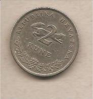 Croazia - Moneta Circolata Da 2 Kune (Tunj - Croatian: Odd Years) - 1995 - Croazia