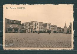 WENDUINE  : De Groote Markt , Gelopen Postkaart 1952  (GA12119) - Wenduine