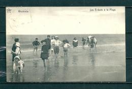 WESTENDE : Les Enfants A La Plage,  Gelopen Postkaart 1913 (GA12170) - Westende