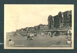 WESTENDE : Plage Et Westend´Hotel, Gelopen Postkaart 1933 (GA12184) - Westende