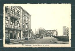 ZEEBRUGGE : Avenue Baron De Maere,  Gelopen Postkaart  (GA12189) - Zeebrugge