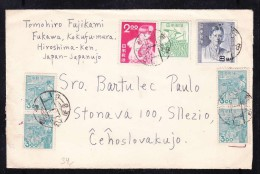 E-JAP-02 LETTER FROM JAPAN TO CZECHOSLOVAKIA. 1927 YEAR.