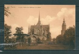 FURNES: Le Parc L'Eglise,  Gelopen Postkaart 1910 (GA12542) - Veurne