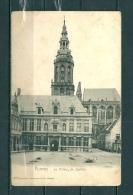 FURNES: Le Palais De Justice,  Gelopen Postkaart 1904 (GA12544) - Veurne