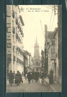 BLAKENBERGE: Rue Du Moulin Et L'Eglise, Gelopen Postkaart 1924 (GA12594) - Blankenberge