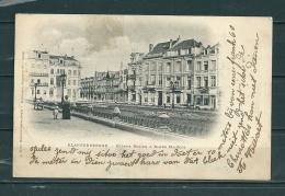 BLAKENBERGE: Avenue Rogier,  Gelopen Postkaart 1902 (GA12606) - Blankenberge