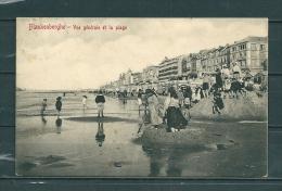BLAKENBERGE: Vue Générale Et La Plage,  Gelopen Postkaart 1910 (GA12610) - Blankenberge