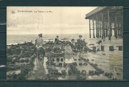 BLAKENBERGE: Les Enfants A La Mer,  Gelopen Postkaart 1920 (GA12698) - Blankenberge