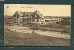 DE HAAN: Preventorium Frans Eyckmans,  Gelopen Postkaart 1927 (GA12720) - De Haan