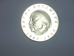 Alemania Democrática 10 Marcos 1967 Kollwitz (745) - [ 6] 1949-1990 : RDA - Rep. Dem. Alemana