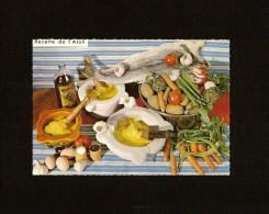 RECETTE . L'AIOLI . RECETTE N° 617 . GEORGETTE SIMON - Recipes (cooking)