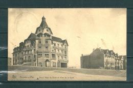 KNOKKE: Grand Hotel Du Zoute Et Villas De La Digue, Gelopen Postkaart  (GA12920) - Knokke