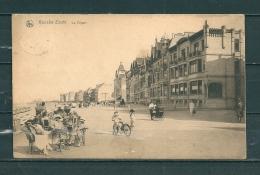 KNOKKE: La Digue,  Gelopen Postkaart 1924 (GA12929) - Knokke